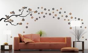 image of vinyl wall decals tree blossom decal