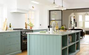 Of Blue Kitchens The Trinity Blue Kitchen Aka St Albans Devol Kitchens