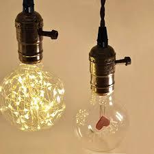 e26 e27 solid industrial triple light sockets sopoby vintage edison hanging textile pendant light