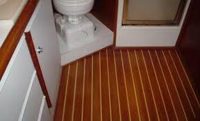 image of used teak and holly flooring