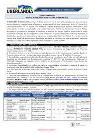 www.rasconcursos.com Edital Prefeitura de Uberândia 001/2016
