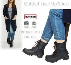 j-pia | Rakuten Global Market: HUNTER BOOT Hunter rain boots ... & HUNTER BOOT Hunter rain boots Childress up quilt boots short boots rubber  boots women's general agent Adamdwight.com