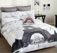paris eiffel tower comforter set 3pcs double bed paris france eiffel tower