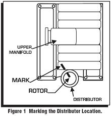 msd 5 0l pro billet distributor 86 95 installation installation