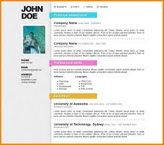 Online Resume Formats Downloadable Job Resume Templates Free