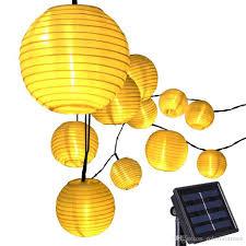 Outdoor Lights And Lanterns 20 Led Lantern Solar Powered String Indoor Or Outdoor Lights Christmas Led String Lights String Paper Lanterns From Colorfulstream 9 95 Dhgate Com