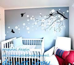vinyl wall art nursery vinyl wall decals cherry blossom tree decals baby nursery kids flower floral on girl nursery vinyl wall art with vinyl wall art nursery chastaintavern