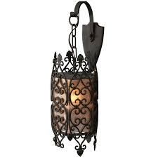 filigree spanish revival exterior lantern