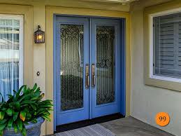 double entry doors with glass. 45 awesome fiberglass entry doors [photos] double with glass p