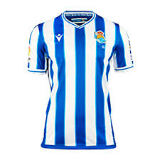 Jersey Macron Real Sociedad Primera Equipación Authentic 2020-2021  Royal-White - Football store Fútbol Emotion