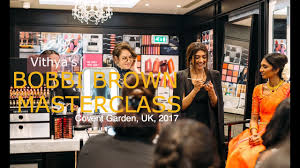 bobbi brown mastercl vithya hair and makeup artist
