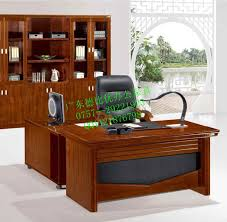 stylish office tables. Cabin Stylish Larry Office Table Boss In Wood U Leather Us Tables