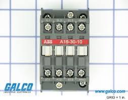 abb contactor wiring diagram abb image wiring diagram a16 30 10 81 abb ac non reversing iec contactors galco on abb contactor wiring diagram