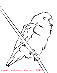 1600x2071 love bird coloring pages birds and ring page vitlt ripping acpra