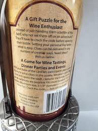 vino vault wine bottle safe cryptex