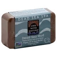 One with Nature, <b>Soap</b>, <b>Triple Milled Mineral</b>, Dead Sea <b>Mud</b> (7 oz)