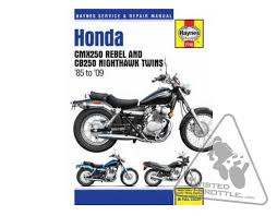 haynes repair manual for honda cmx250 rebel 85 09 cb250 haynes repair manual for honda cmx250 rebel 85 09 cb250 nighthawk 85 09