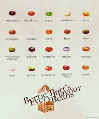 Harry Potter Jelly Bean Flavors Chart Bertie Botts Every Flavor Beans Guide With Pictures