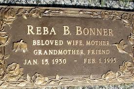 Reba Berease Tharp Bonner (1930-1995) - Find A Grave Memorial