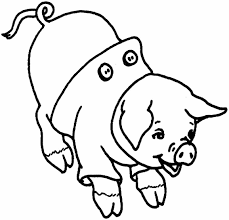 Small Picture Pig Coloring Pictures Of Pigs Smells Something Coloring Page Free