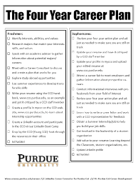 Four Year College Plan Template Year College Template Four Plan