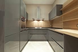 Corridor Kitchen Design