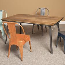 Industrial Kitchen Table Furniture Perfect Ideas Wood Metal Dining Table Super 17 Ideas About