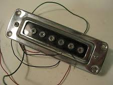 teisco vintage guitar parts vintage teisco kawai aria hollow body guitar pickup for your project repair