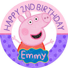 Peppa Pig Archives Edible Cake Toppers Ireland Personalised