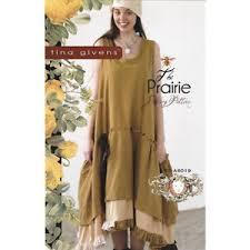 Tina Givens Patterns Awesome TINA GIVENS PRAIRIE SLIP DRESS Sewing Pattern EBay