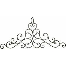 Small Picture wrought iron wall decor world Wrought Iron Wall Decor Ideas for
