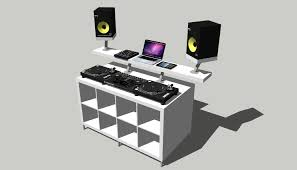 the ikea dj booth overview