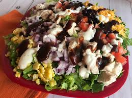 bbq ranch en salad
