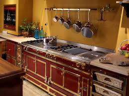 Red And Gold Kitchen Photo Page Hgtv