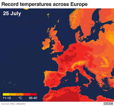 Bbc Record Charts The Uks Record Breaking Heat In Maps Europe Uk Weather