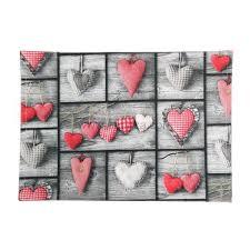 set de table sweet love linge de