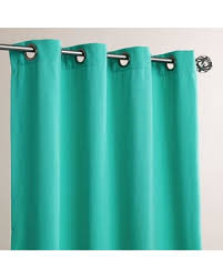 Spring Into Savings On Aqua Grommet Top Outdoor Curtains Set Of 2
