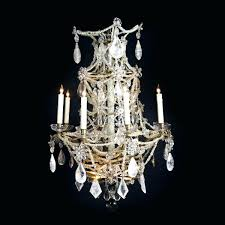 rock crystal chandelier dd antiques gallery a french xvi fixture
