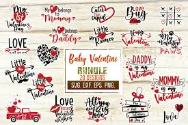 Valentine's day is just around the corner and love is in the air. Valentine S Day Baby Svg Craft Bundle Graphic By Svglaboratory Di 2020