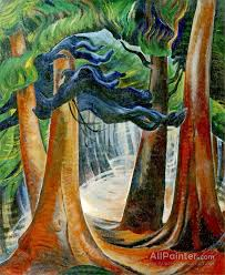 emily carr paintings for among the firs