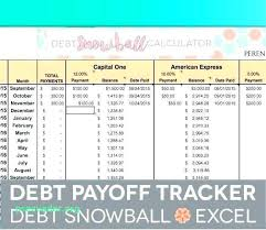 Credit Card Spreadsheet Template Debt Payoff Spreadsheet Snowball Excel Loan Template Rapid
