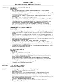 Machine Operator Resume Sample CNC Machine Operator Resume Samples Velvet Jobs 41