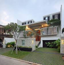 Small Picture Luxury Garden House In Jakarta iDesignArch Interior Design