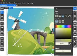 Use the local file or online file buttons to specify how to upload the image to the server. 6 Free Web Based Svg Editors Compared Sitepoint