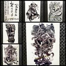 5858 руб 8 скидкагреческой мифологии воин дизайн временные татуировки