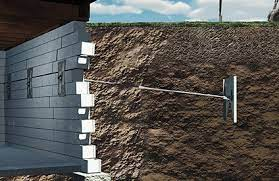 foundation wall repair and bowing