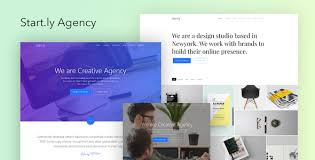 Parallax Website Template Unique Startly Agency One Page Parallax Website Template By Surjithctly
