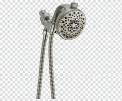 delta hydro rain premium high pressure 6 setting shower head plumbing delta contemporary delta delta hydrorain