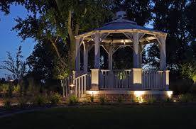 unusual lighting ideas. unique landscape lighting gazebo unusual ideas a