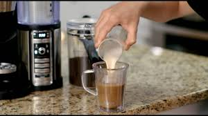 The six possible serving option includes a single cup 9.5 oz, travel mug 14oz. Making A Caramel Macchiato With The Ninja Coffee Bar Youtube